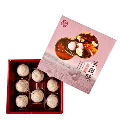 Yamibuy- 台湾生计 麻薯芋头酥 礼盒装 8枚入