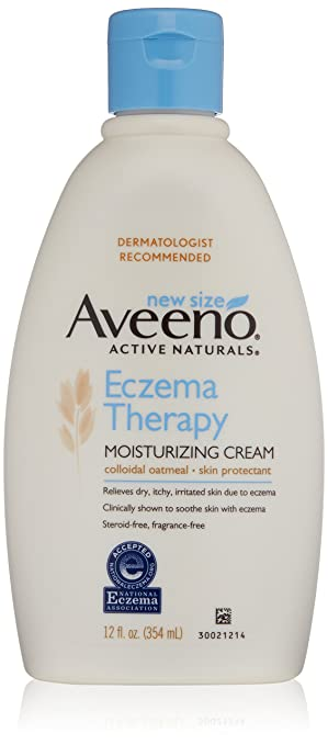 Aveeno Eczema Therapy Moisturizing Cream, 12 oz
