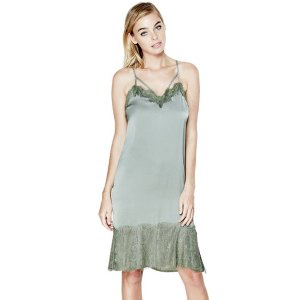 Serena Lace Mix Slip Dress