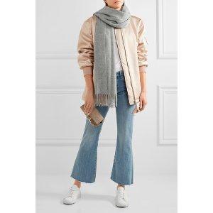 Acne Studios | Canada Narrow fringed wool scarf