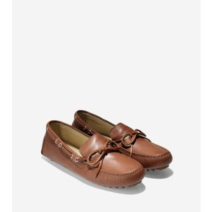 Womens Garnet Driver Shoes in Luggage