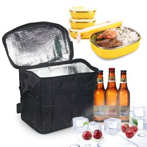 Oumers Lunch Tote Bag Box Cooler Bag