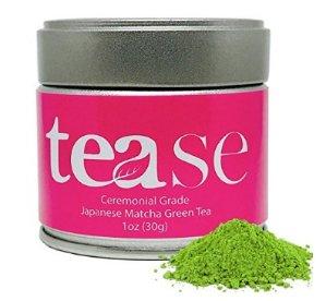 减肥抗氧化!Tease Ceremonial Grade 有机日本抹茶粉30克