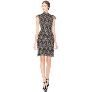 Marya Scalloped Hem Dress