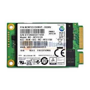 $99.99 Samsung 512GB PM851 50mm SATA III (6G) mSATA SSD Solid State Drive