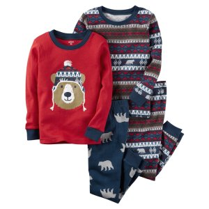 Toddler Boy 4-Piece Snug Fit Cotton PJs | Carters.com