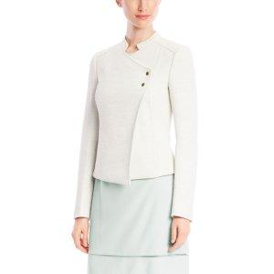 Krista, Stretch Oversize-Twill Jacket   HUGO BOSS