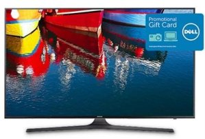 $599.99 + $150GC Samsung 55 Inch 4K Ultra HD UHD  Smart TV UN55KU6300F