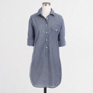 Popover tunic : Tunics | J.Crew Factory