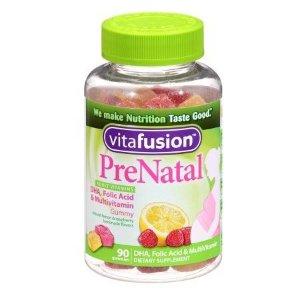 Vitafusion PreNatal, Adult Vitamins, Gummies Lemon & Raspberry Lemonade | Walgreens
