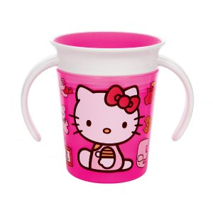 Munchkin BPA Free Miracle 360 degree 6 ounce Trainer Cup - Hello Kitty - Munchkin - Babies