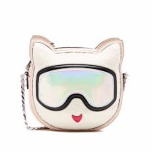 Karl Lagerfeld Women's Choupette Cross Body Bag - Cream
