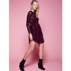 Beatrix Lace Mini Dress