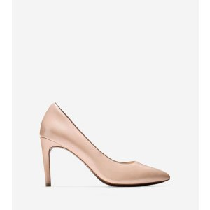 Women's Eliza Grand Pumps 85mm in Nude Leather