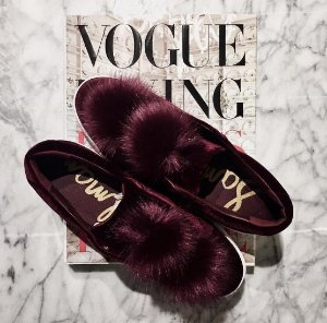 $99.95Sam Edelman 'Leya' Faux Fur Laceless Sneaker @ Nordstrom