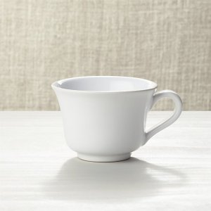 Small White Mug | Crate and Barrel