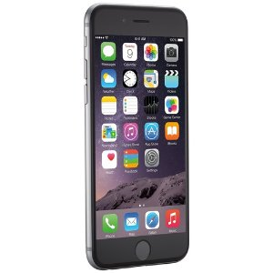 $339 Apple iPhone 6 16GB Factory Unlocked GSM 4G LTE Smartphone, Space Gray (Refurbished)