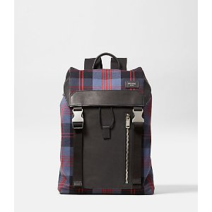 Cocharron Plaid Army Backpack - JackSpade