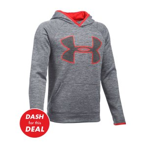 Graphite Storm Armour® Fleece Twist Highlight Hoodie - Boys