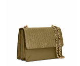Tory Burch Robinson Croc-embossed Convertible Shoulder Bag : Women's Satchels & Shoulder Bags