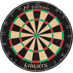 EastPoint Sports Liberty Bristle Dartboard with Self-Healing Sisal