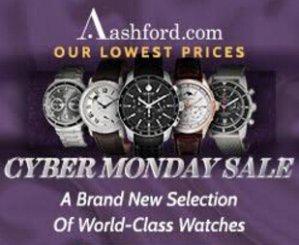 Cyber Monday week event! Up to 90% off Ashford's watches