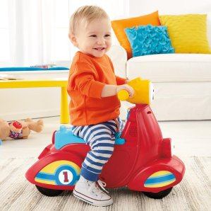 Prime Member Only! Fisher-Price Laugh & Learn Smart Stages Scooter
