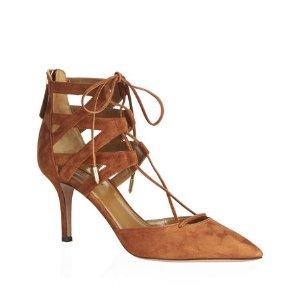 Aquazzurra Belgravia Lace-Up Heel
