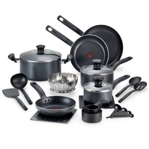 Start!2016 Black Friday! $39.99 After Rebate T-Fal Occasion 18-Pc. Cookware Set