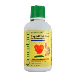 Childlife Liquid Calcium with Magnesium Natural Orange -- 16 fl oz