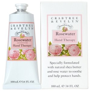 Crabtree & Evelyn Rosewater Hand Therapy (100ml) - FREE Delivery