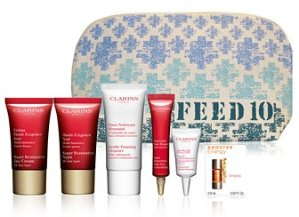Free 7-pc Gift Set with any $75 Clarins Purchase @ macys.com