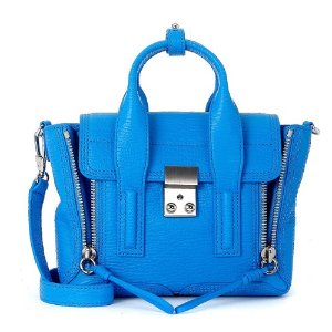 3.1 Phillip Lim Pashli Mini Satchel Cyan