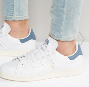 $100 adidas Originals Stan Smith Sneakers In White S80026