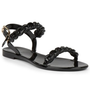 Givenchy JELLY FLAT SANDAL | Tessabit shop online