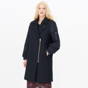 Gilmour Coat - The Coat Shop - Sandro-paris.com