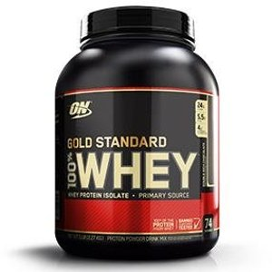 Optimum Nutrition 100% Whey Gold Standard, Double Rich Chocolate 2 lbs(32oz).