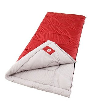 $15.99 Coleman Biscayne Big and Tall Warm Weather Sleeping Bag