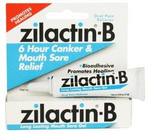 8.49 Zilactin-B Long Lasting Mouth Sore Gel - 0.25 Oz
