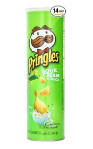 $12.60 Pringles Sour Cream and Onion Super Stack, 5.96 Ounce (Pack of 14)
