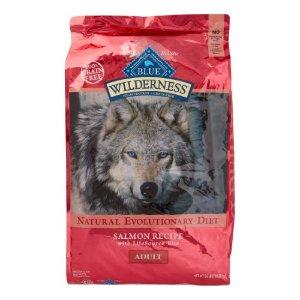 Blue Buffalo Wilderness Salmon Adult Dry Dog Food, 24 Lb | Jet.com