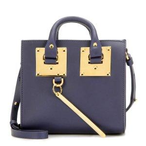 Sophie Hulme Box Albion leather shoulder bag