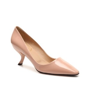 Final Sale - Roger Vivier Patent Leather Curved Pump | DSW