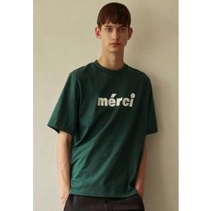 LOCLE BY LOW CLASSIC [Unisex] Locle Merci Print T - Green