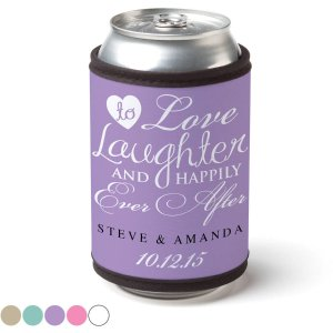 Personalized Happily Ever After Can & Bottle Wrap - Walmart.com