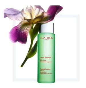 $22.1Toning Lotion with Iris @ Clarins