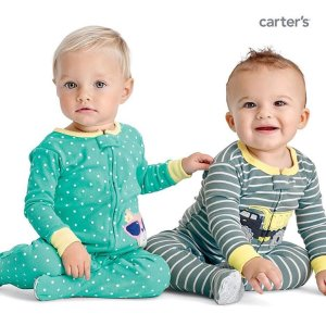 Starting at $8 Doorbuster 1-Piece Pajamas @ Carter's