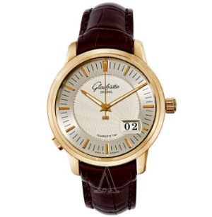 Dealmoon Exclusive! $8388(reg. $21,500) Glashutte Men's Senator Panorama Date Watch 100-03-01-01-04