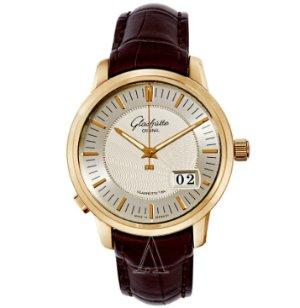 Dealmoon Exclusive! $8388(reg. $21,500)Glashutte Men's Senator Panorama Date Watch 100-03-01-01-04