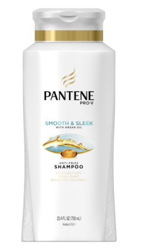Pantene Pro-V Smooth and Sleek Shampoo 25.4 fl oz - Smoothing Shampoo(Pack of 3)